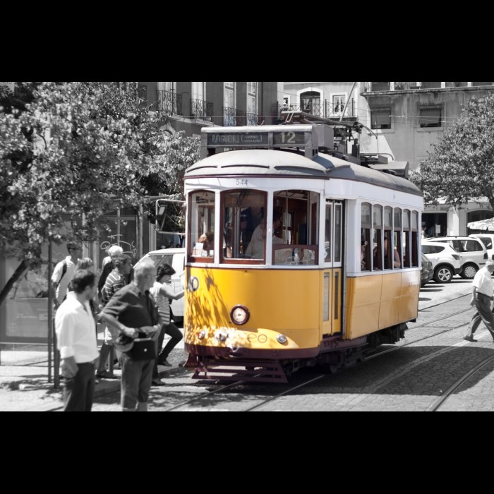 Photos du Portugal -   Tramway de Lisbonne
