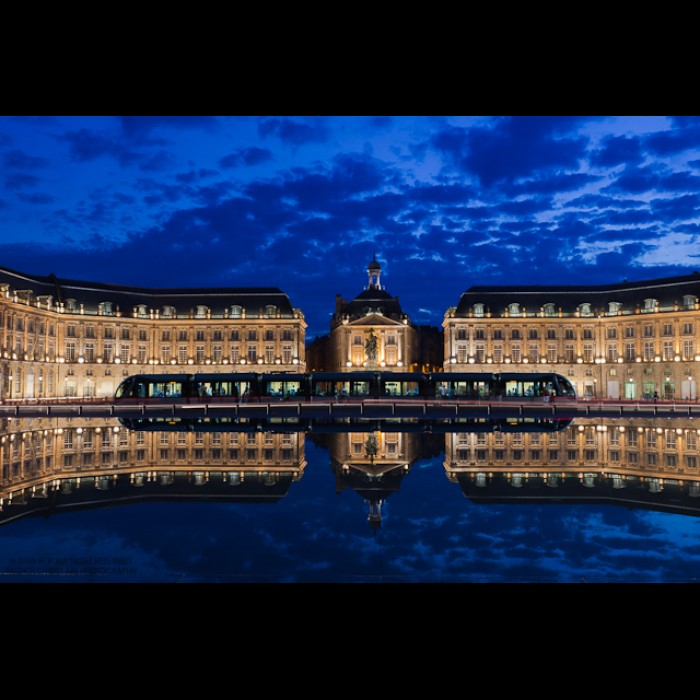 Photos d'architecture -   Place de la bourse, Bordeaux, Patrick Chatelain Photographe