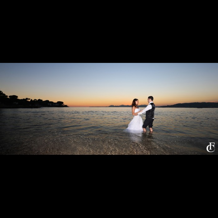 Photos Mariage -   Seance trash the dress Antibes