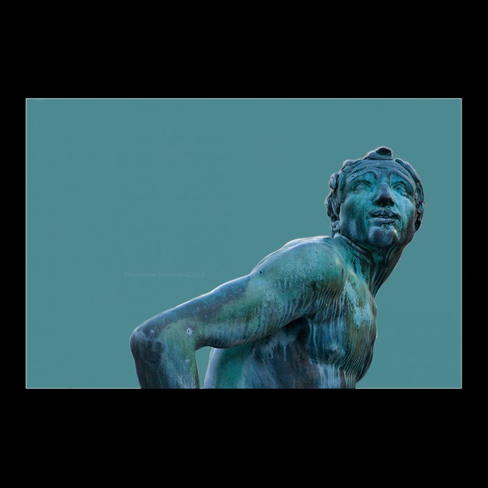 Photos Sculpture -   Fontaine de Neptune#détail