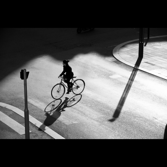 Photos de Rues - Street Photography -   A bicyclette